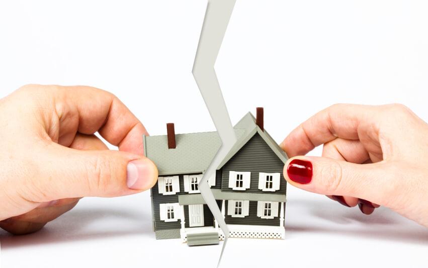 Раздел недвижимости при расторжении брака