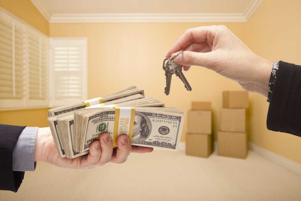 передача денег при сделке с недвижимостью