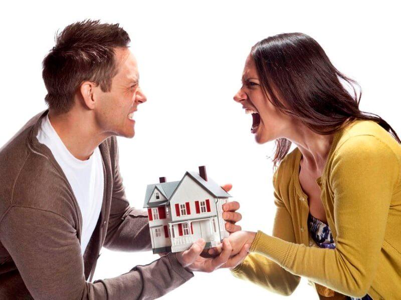 Раздел недвижимости между супругами