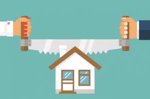 Раздел имущества, если квартира в кредите